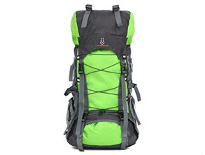 Outdoor Large Camping Backpack Green