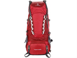 Outdoor Mountaineer Large Rucksack Red