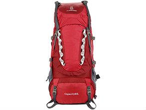 Outdoor Mountaineer Large Rucksack Red