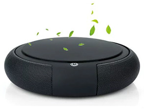 Portable Smart Car Air Purifier Black