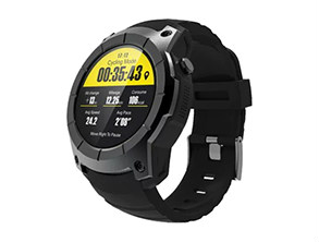 S958 GPS Smartwatch Phone Black