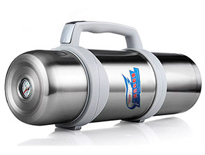 Stainless Vacuum Sports Kettle Silver