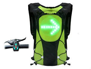 Wireless control Safety Backpack Green