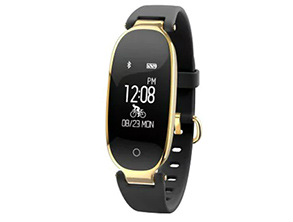 Y103 Elegant Women Smart Bracelet Black