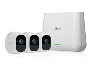 Arlo Pro 2 NETGEAR Home Security Camera System White