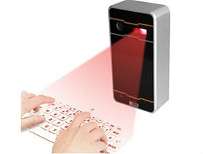 Atongm Bluetooth Laser Projection Virtual Keyboard Black