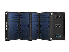 BlitzWolf BW-L3 Foldable Solar Charger Blue