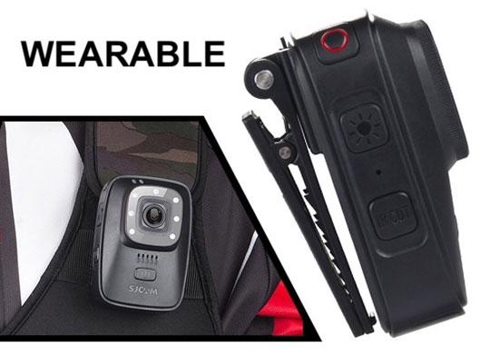 Body Wearable Camera