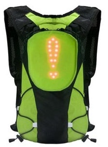 LED Light Backpack for road