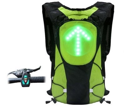 LED Light Backpack front