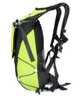LED Light Backpack side