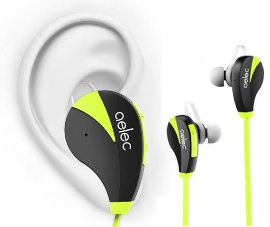 Long Battery Life AELEC Bluetooth In-Ear Earphones