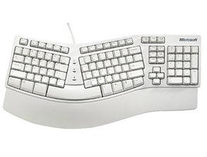 Microsoft Natural Keyboard Elit White
