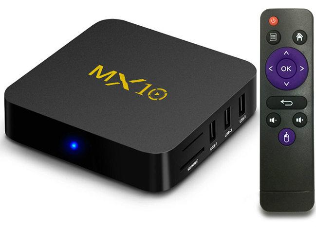 MX10 Android TV BOX
