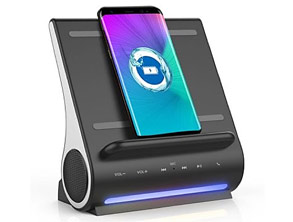 Qi Wireless Dock HiFi Speaker