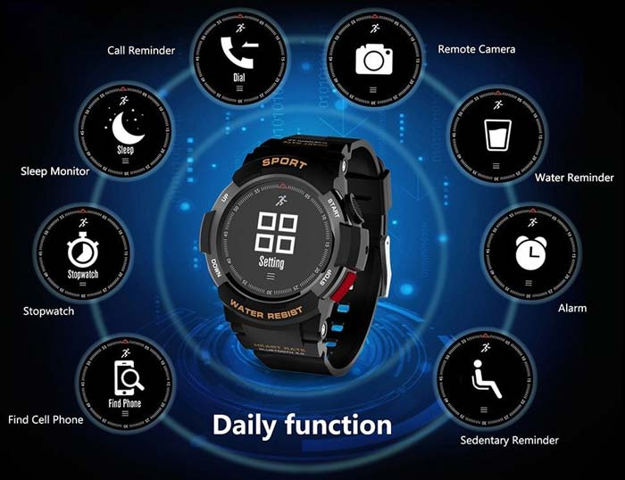 Smart Watch NO.1 F6 Sports Smartwatch