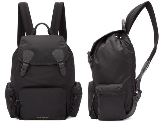 Burberry Backpack Nylon Rucksack