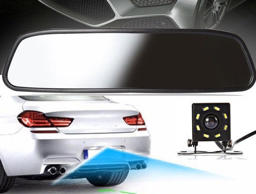 Car Rearview Mirror with camera