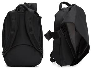 Cote and Ciel Black Medium Isar Backpack