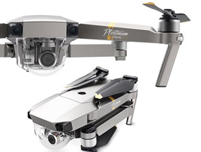 DJI Mavic Pro Platinum Foldable RC Quadcopter