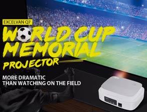 Excelvan Q7 World Cup Memorial Projector