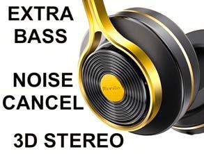 Extra Bass Stereo Headphones