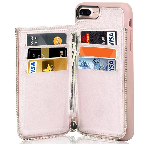 Fashionable iPhone 8 Plus and 7 Plus Wallet Case
