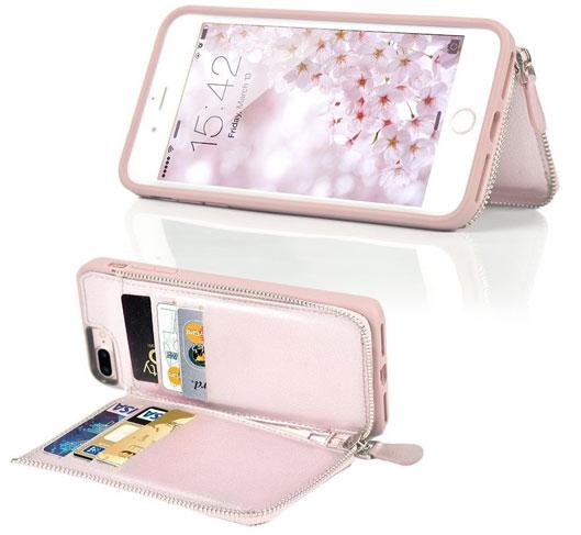 Fashionable iPhone 8 Plus Wallet Case