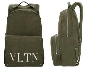 Green Valentino Garavani backpack