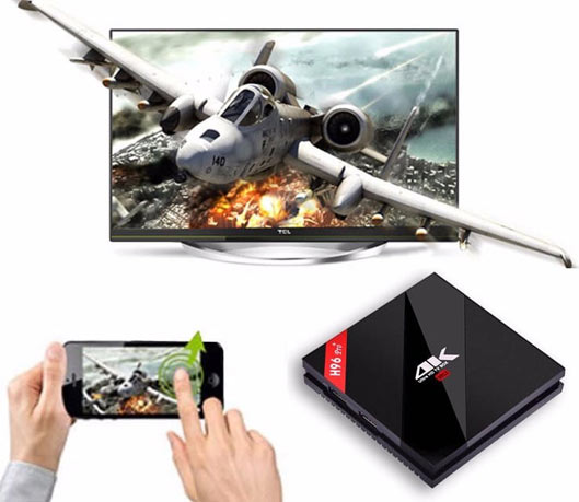 H96 4K HD Android Smart TV Box