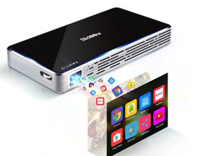 Home Theater HD 1080p Pocket Projector