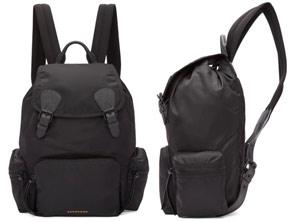 Lightweight Burberry Backpack Nylon Rucksack