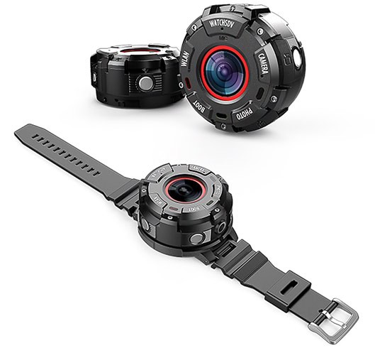 Smart Wearable Action Camera