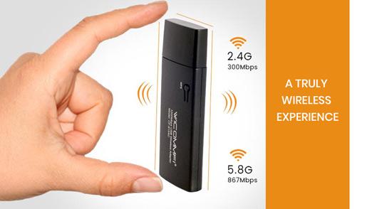 WICOMMFI Usb 3.0 wireless Adapter 1200 Mbps