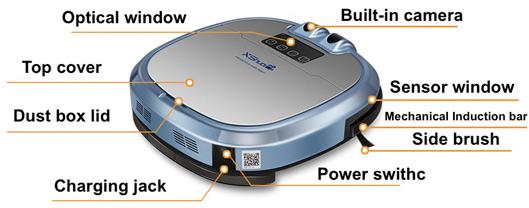XShuai Robotic Vacuum Cleaner