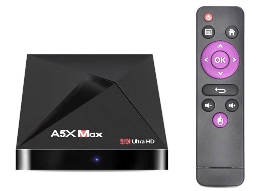 A5X MAX TV Box