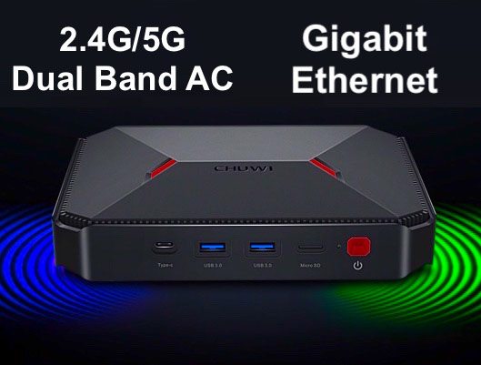 CHUWI GBox 64GB ROM Mini PC