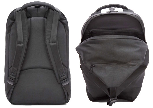 Cote and Ciel Black Small Eco Yarn Oril Backpack