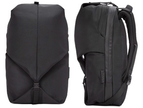Cote Ciel Black Small Eco Yarn Oril Backpack