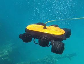 Drone for Diving Fans