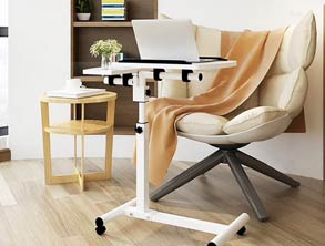 Movable Laptop Wooden Table