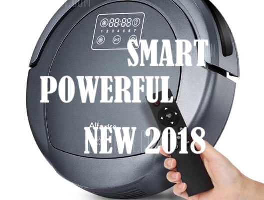 Powerful Robotic Vacuum Cleaner