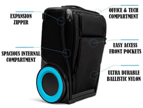 Smart Travel Luggage with Wheels