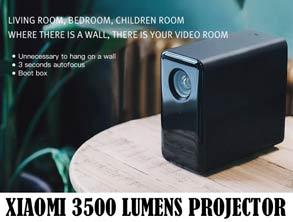 Xiaomi 3500 Lumens Projector Discount