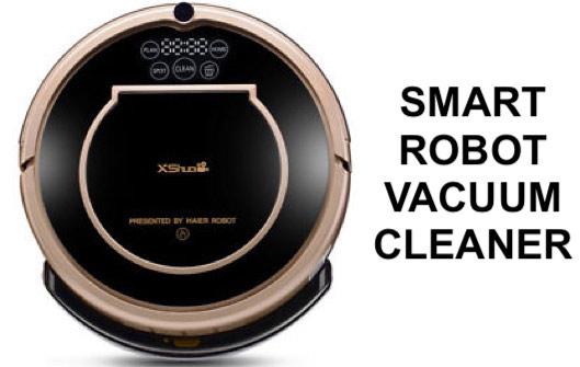 XShuai T370 Robotic Vacuum Cleaner