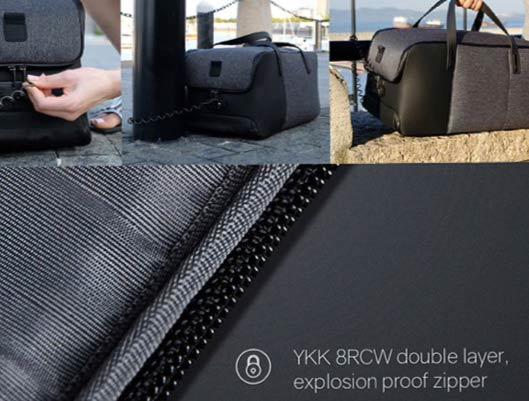 Anti-theft Duffle Backpack for Travel