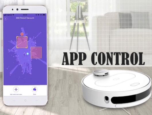 App Control Robot Vacuum