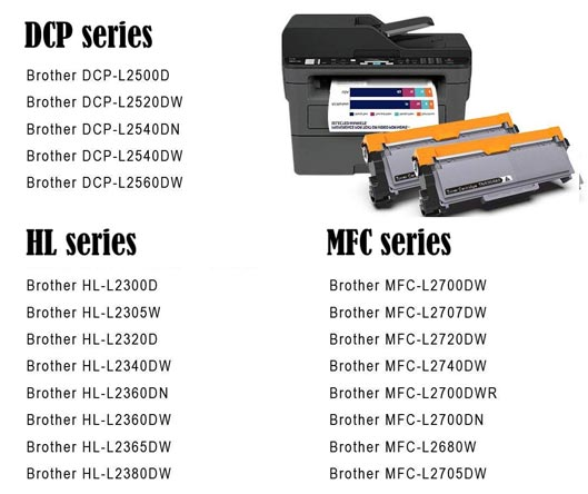 Brother Compatible Toner Cartridges