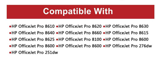 Cartridge Replacement pack for HP OfficeJet Printers