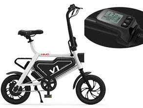 Folding Electric Moped Bike